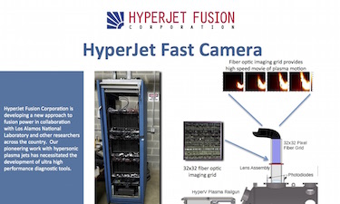Flyer for High Speed Camera